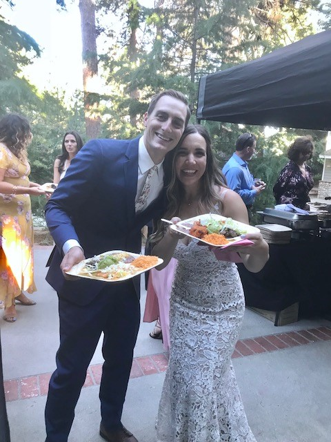 Wedding Catering at Lake Arrowhead
