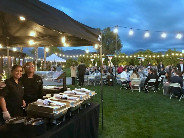 Wedding Catering at The Grove in Redlands