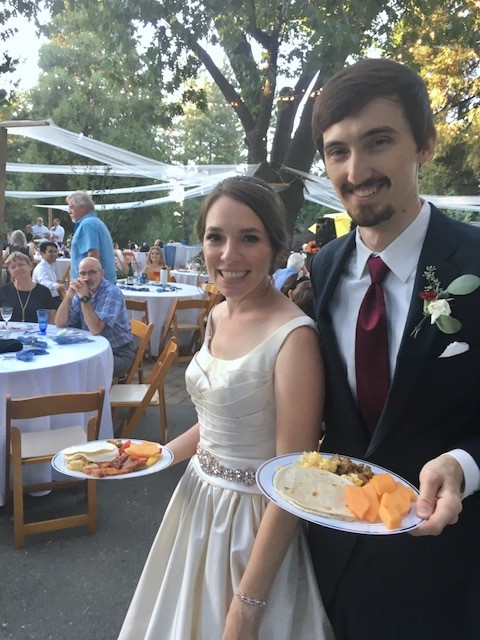 Wedding Catering at Science Camp in Lake Arrowhead